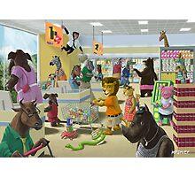 Animal Supermarket Photographic Print