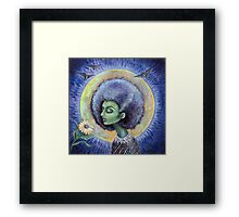The Light of the Moon Framed Print