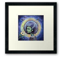 The Light of the Moon Framed Print