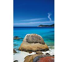 Plum Pudding Rock Photographic Print