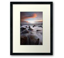 Western Dawn Framed Print