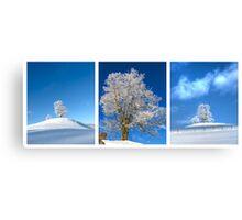 Single Treesome Canvas Print