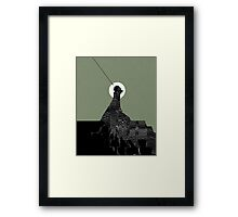 Looking at Night Framed Print