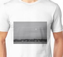 Moonrise over Manhasset Bay Unisex T-Shirt