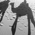 Shades of the Sahara, in black & white by Iris MacKenzie