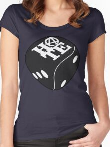 Black Dice Women's Fitted Scoop T-Shirt
