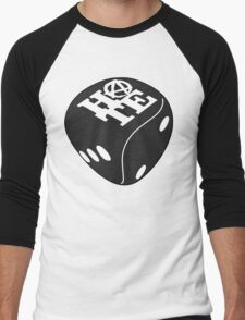 Black Dice Men's Baseball ¾ T-Shirt