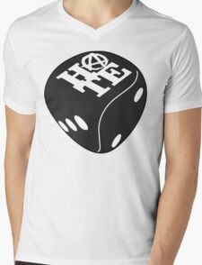 Black Dice Mens V-Neck T-Shirt