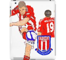 Super Jonny Walters - Potters' Cult Hero iPad Case/Skin