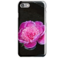 flowers in the fountain iPhone Case/Skin