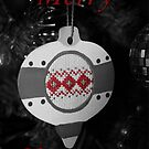 Bauble - Christmas Card by Samantha Higgs
