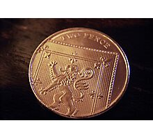 Two Pence Photographic Print