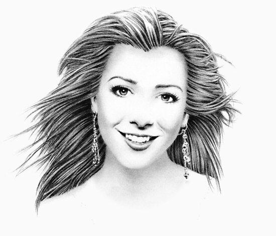 Alyson Hannigan Portrait by wu-wei