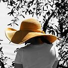 Lady with the big Hat by TJ Baccari Photography