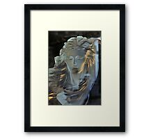 Crystal Female Bust Framed Print