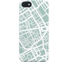 Minimal Maps - London U.K iPhone Case/Skin