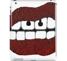 Glitter Red Lips with Piercing iPad Case/Skin