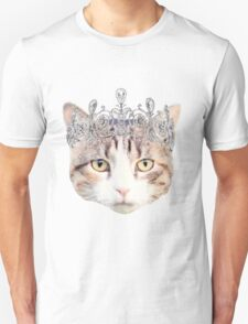 Cat with a Tiara T-Shirt