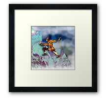 Ice Axe mutant 1. Framed Print