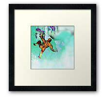Ice Axe mutant 2. Framed Print
