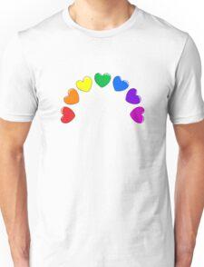 Heart Rainbow Unisex T-Shirt