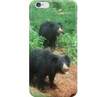 Cool Sloth Bear iPhone Case/Skin