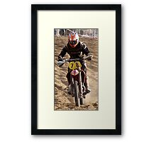 One more time round....... Framed Print