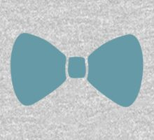 Turquoise Pastel Bow Kids Clothes