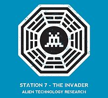 Station 7 - The Invader by sebisghosts