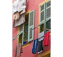 Wash Day Wall Photographic Print