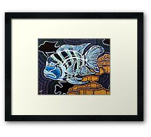 Moby the Cichlid Framed Print