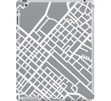 Minimal Maps (Grey) - Cape Town S.A. iPad Case/Skin