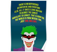 The Joker - Batman: The Killing Joke Poster