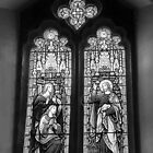 Stained Glass B/W Enhance. by relayer51