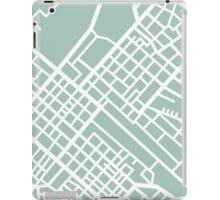 Minimal Maps (Green) - Cape Town S.A. iPad Case/Skin