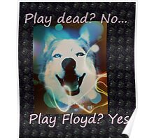 Play dead, no... play Floyd Poster