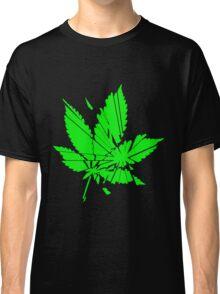Marijuana Leaf cut to pieces Classic T-Shirt