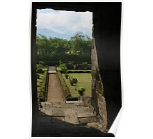 View from Candi Badut Poster