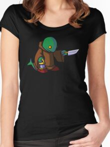 Doink! Women's Fitted Scoop T-Shirt
