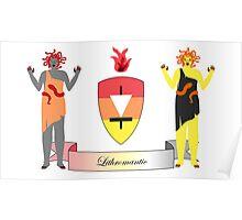 Lithromantic Crest Poster