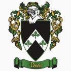 Davis Family Crest by inkcharmer