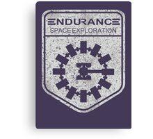 vintage Endurance stamped (light print) Canvas Print