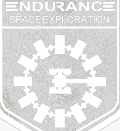 vintage Endurance stamped (light print) Sticker