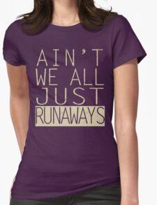 runaways Womens Fitted T-Shirt