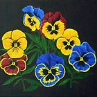 Pansy Lions I by BrandyHouse