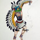 Eagle Dancer Cachina by BrandyHouse