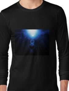 Abstract Underwater Long Sleeve T-Shirt