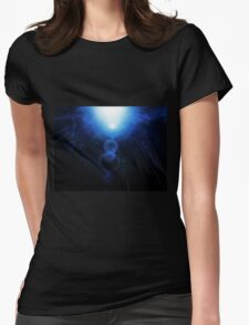 Abstract Underwater Womens Fitted T-Shirt