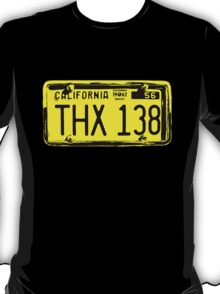 THX 138 Licence Plate Original T-Shirt