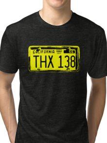 THX 138 Licence Plate Original Tri-blend T-Shirt